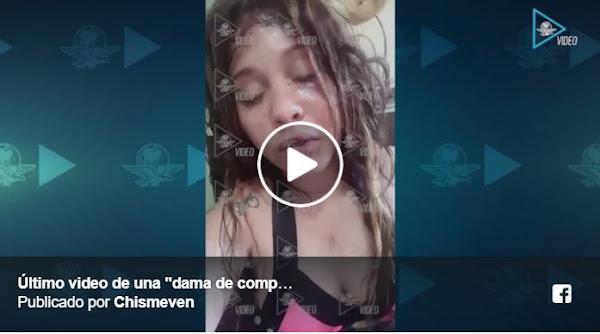 Aparece el último video de una venezolana asesinada en México antes de morir