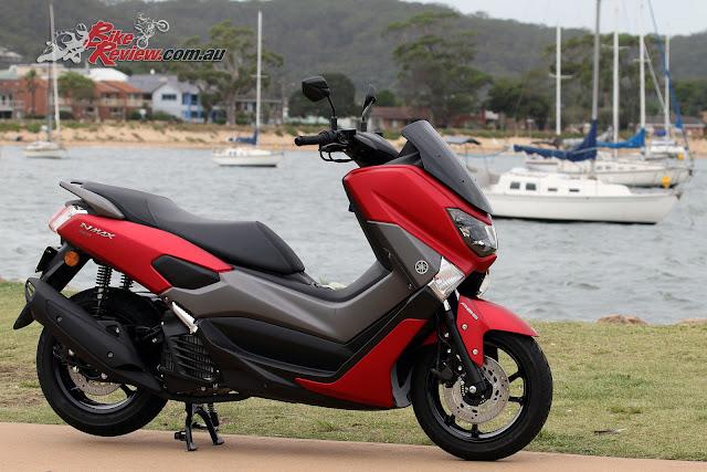 Yamaha NMax Hadir Dengan Guyuran Matte Red