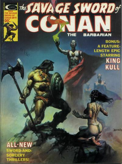 Marvel Comics, Savage Sword of Conan  #9