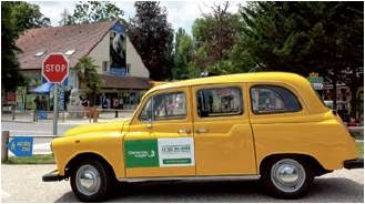 Taxi Jaune - Cheverny Voyages