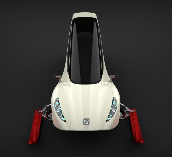 snow car
