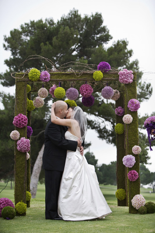 Wedding Arches with Flowers  Wedding Ideas