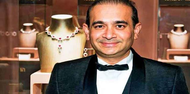 भगोड़ा हीरा व्यापारी नीरव मोदी लंदन के हाल्बॉर्न में गिरफ्तार