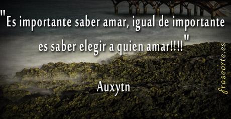 Frases de amor - Auxytn
