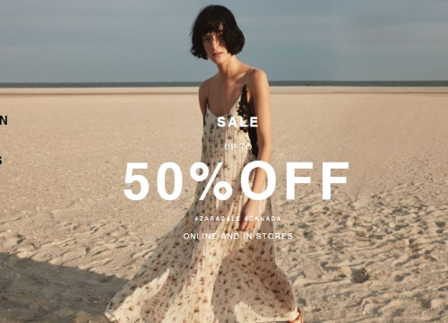 Zara Summer Sale Up To 50% Off