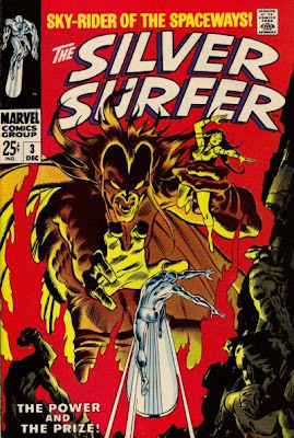Silver Surfer #3, first appearance Mephisto