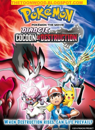 Pokémon the Movie 18: Diancie and the Cocoon of Destruction (2014) hindi dubbed