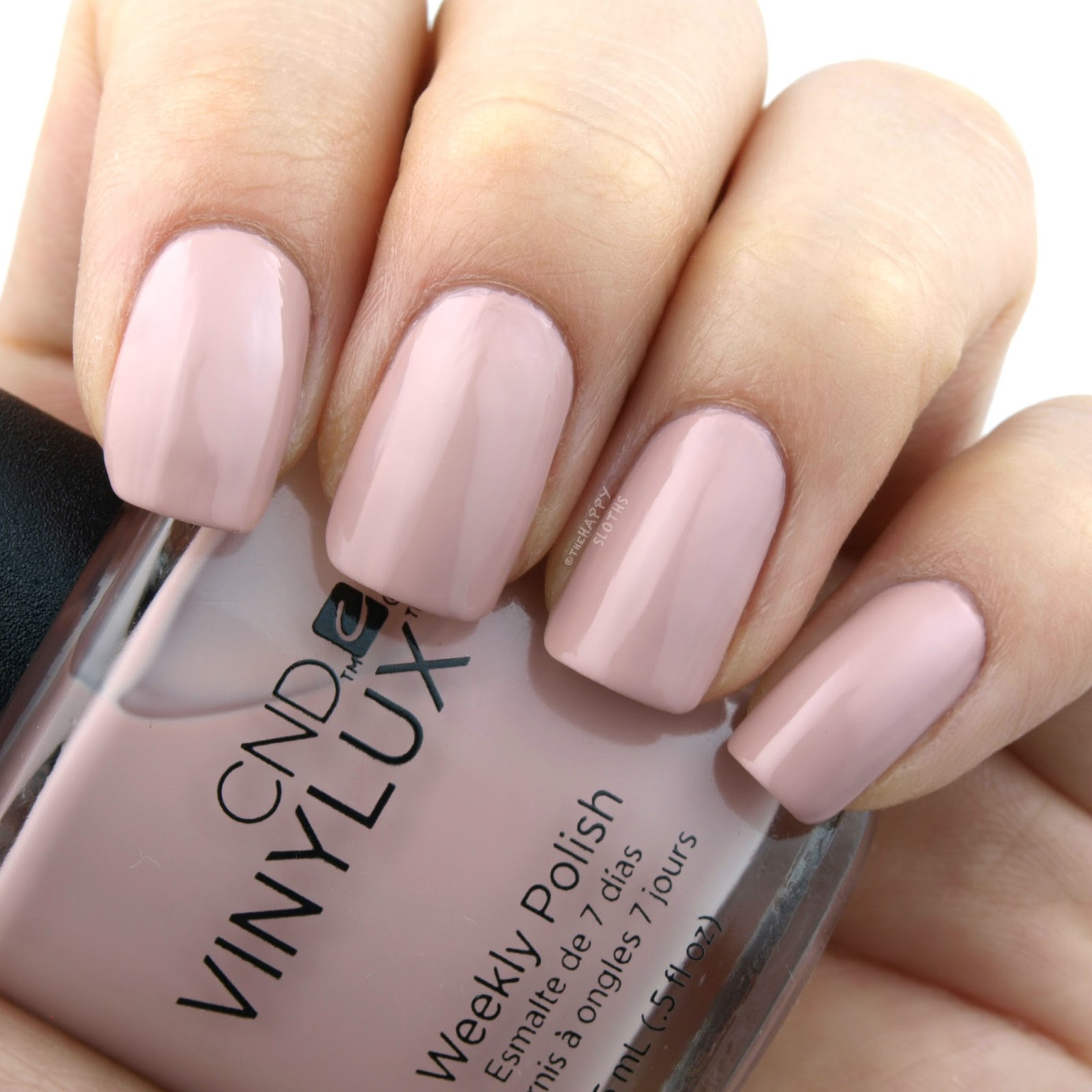 CND Vinylux Intimates Collection | Nude Knickers: Review and Swatches