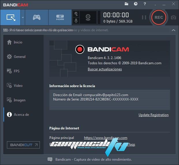 Bandicam Full Versión Español