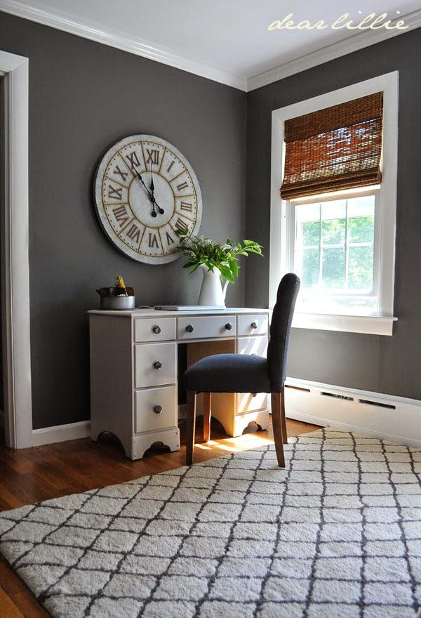 Target White Desk Chair Hanging Swing Nz Dear Lillie: Jason's Home Office/guest Room