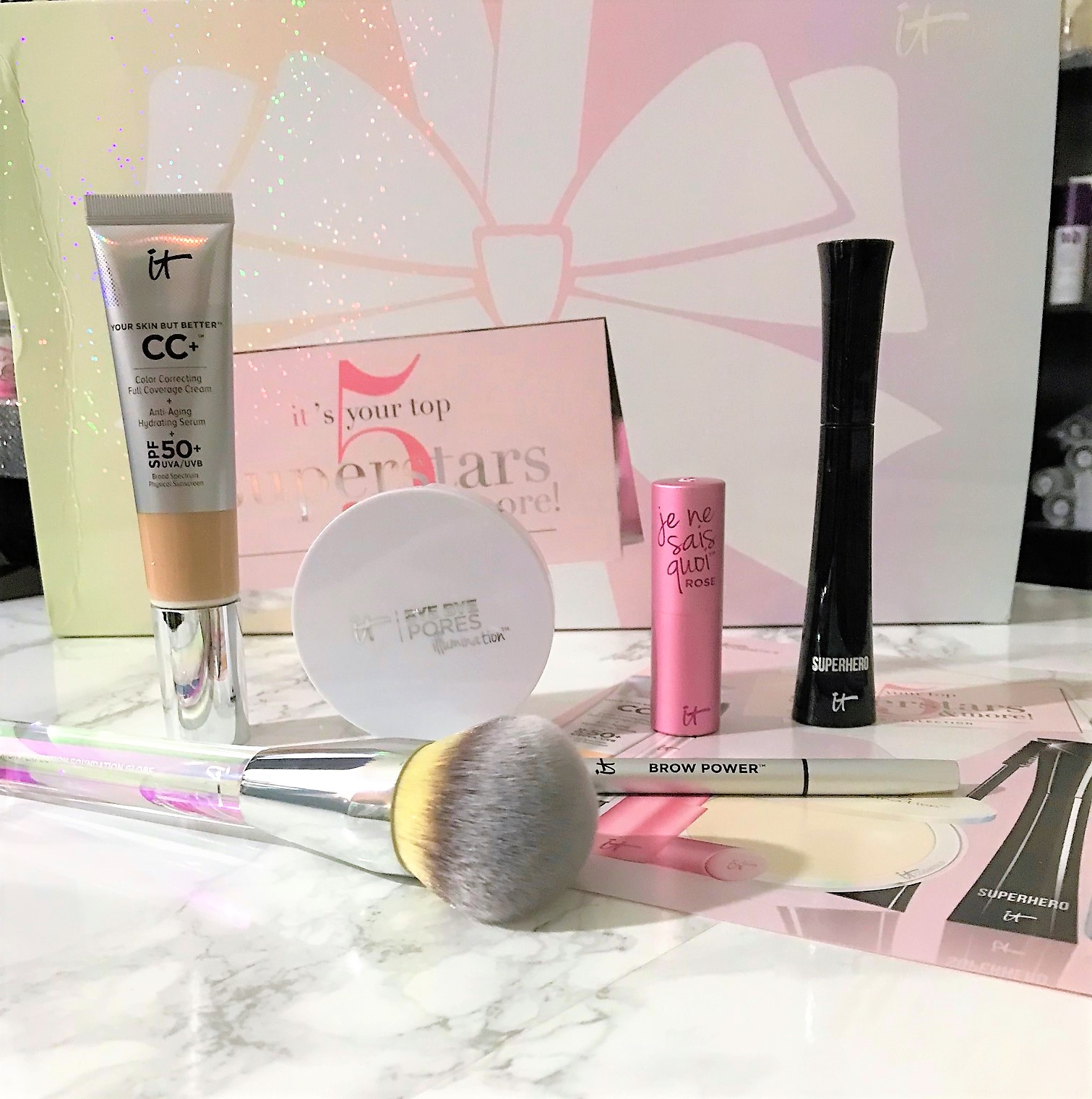 IT's Your Top 5 Superstars & More! | It Cosmetics TSV on QVC - Nik