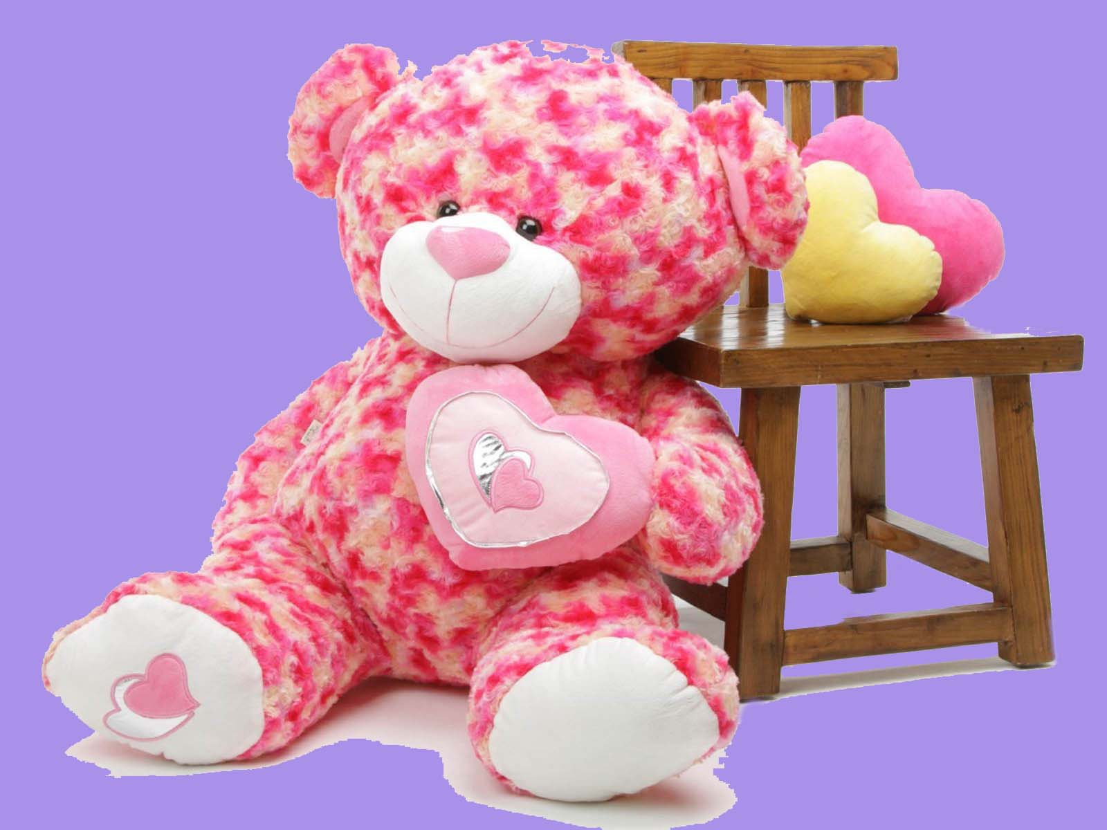 Lovely and beautiful teddy bear wallpapers free love images of love pink teddy bear cute image voltagebd Image collections