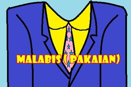 Materi Bahasa Arab SD ~ ملابس MALABIS ( Pakaian)  kelas 1 (Tiga Serangkai )