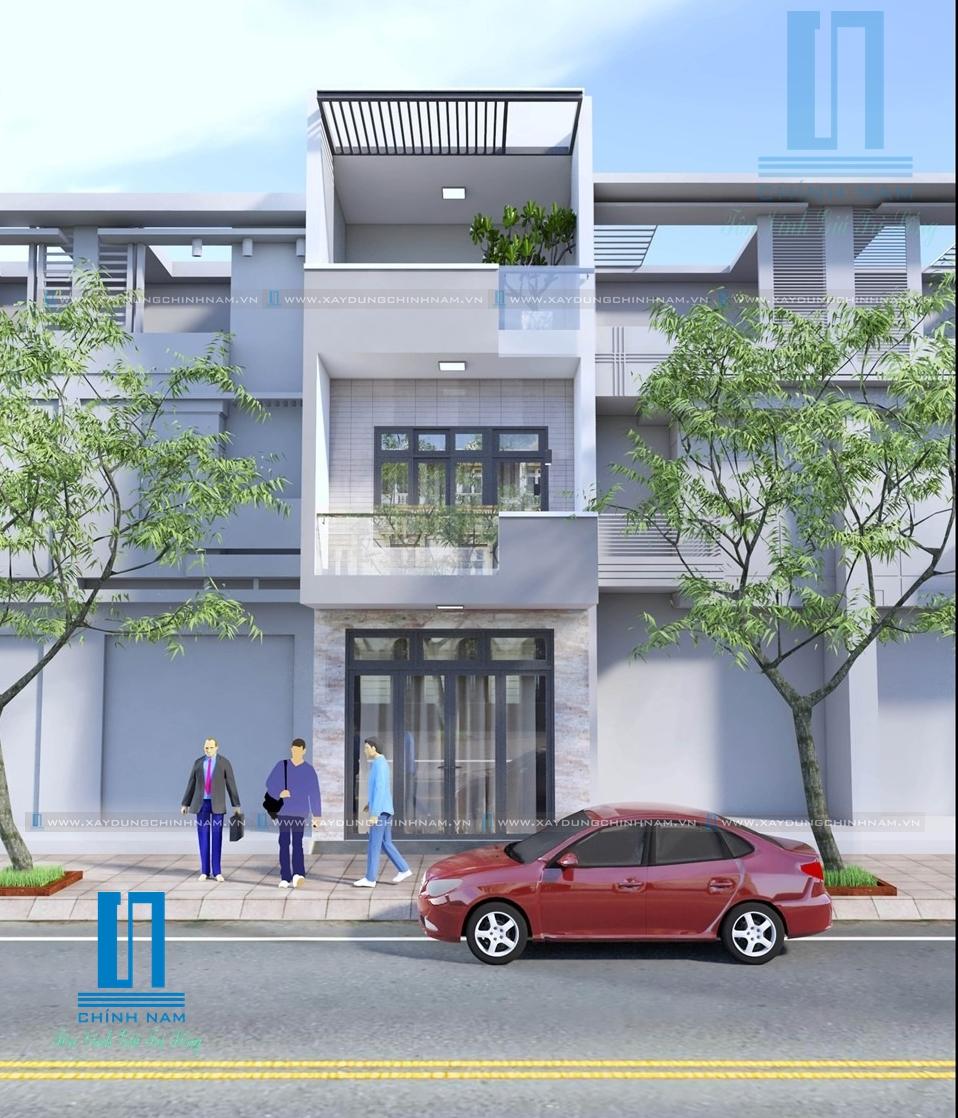 Nhà thầu xây dựng Đồng Nai xây nhà trọn gói nhà anh Bùi Đình Hòa