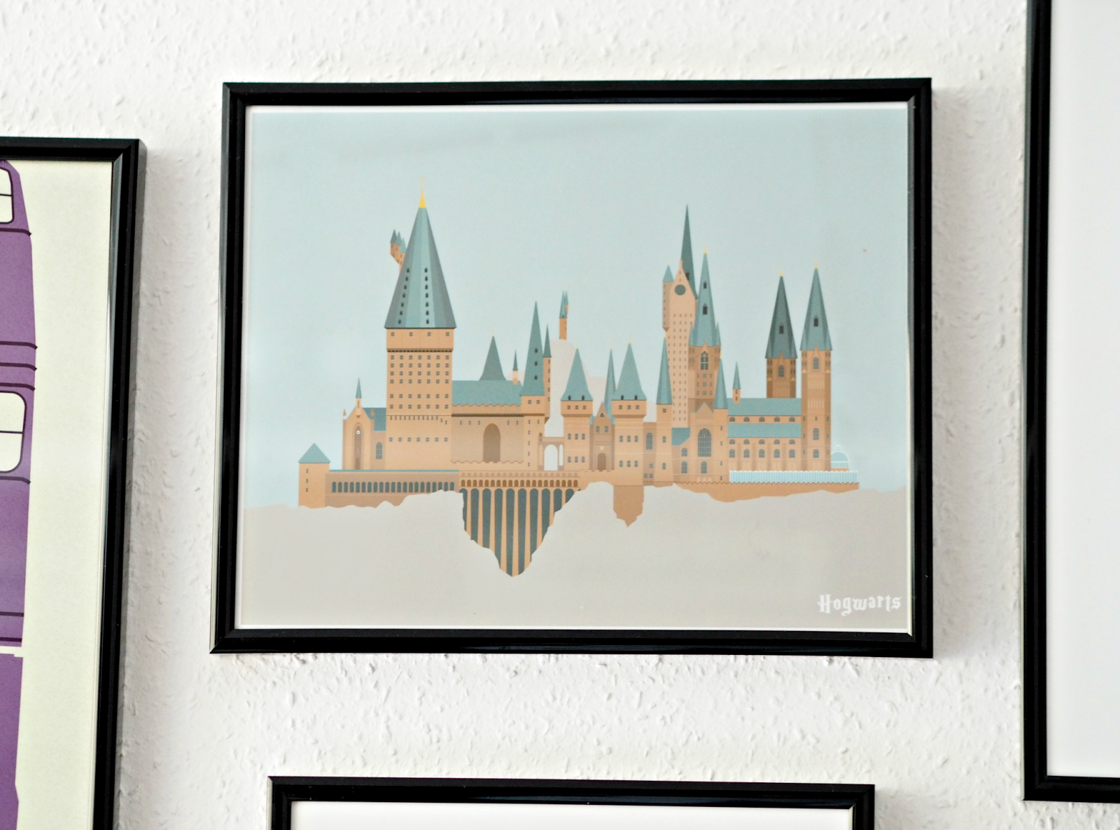 Beautiful So there you have it Have you spotted any other awesome Harry Potter artwork on Etsy that you think I should add to the wall Let me know