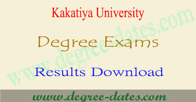 KU Degree results 2019 kakatiya ug 1st 2nd 3rd year result date