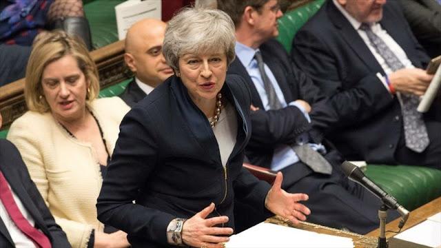 May pide a Bruselas un aplazamiento del Brexit hasta 30 de junio
