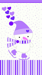 Lovely Snowman Free Printable Invitation or Cards.