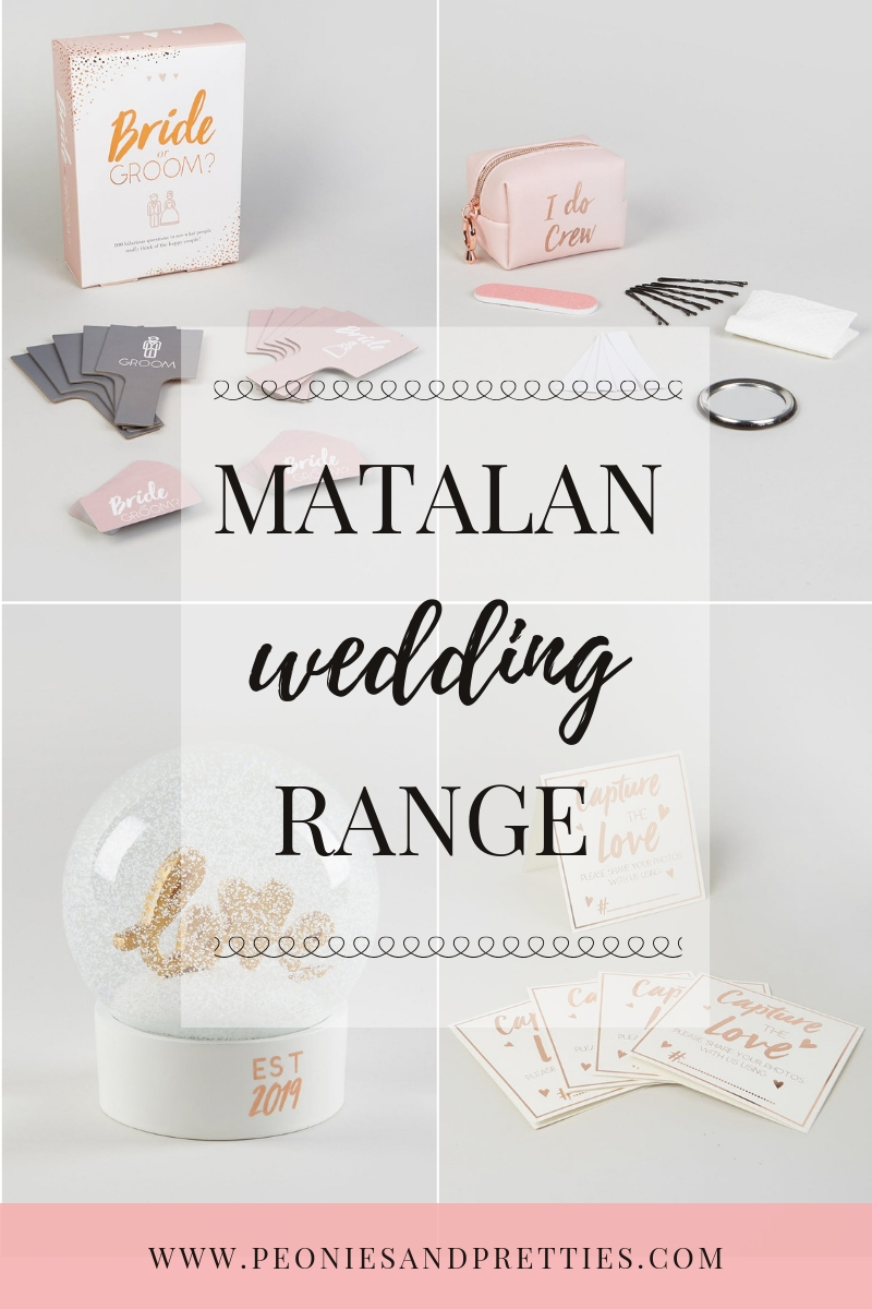 e2ed85fdcfbc5 Matalan have just released a wedding range and it doesn't disappoint; from bridal  swimsuits, to wedding gifts there is so much to choose from.