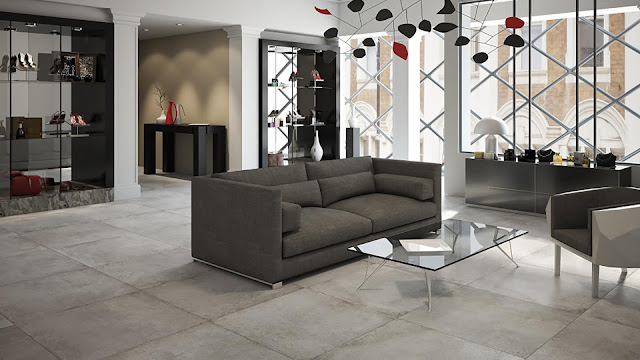 Tiles for floor design Aster collection - Explore the invisible