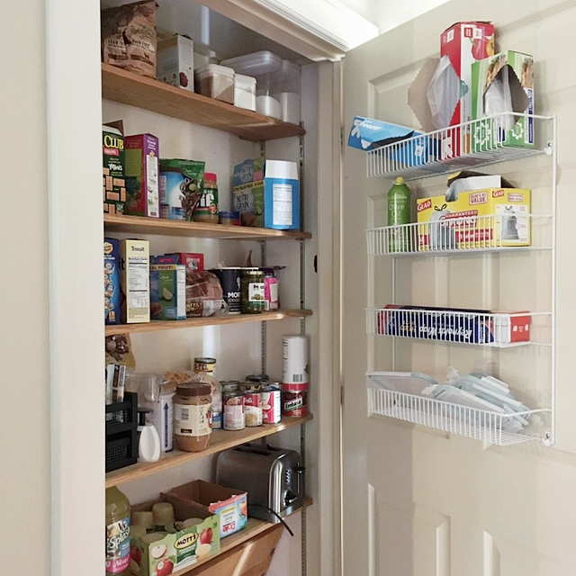 Kitchen Organization List: Small Pantry Organization + Free Stock List