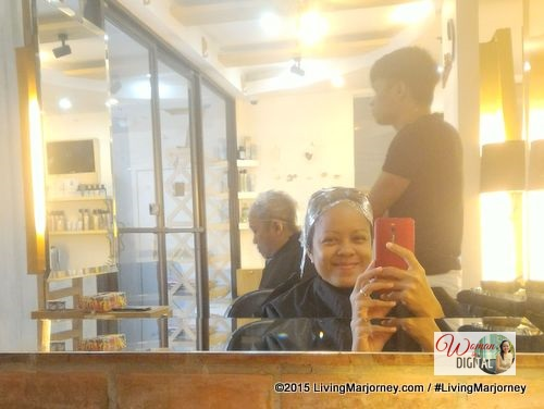 organic scalp treatment at Creations by Lourd Ramos