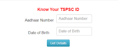 TSPSC One Time Online Registration