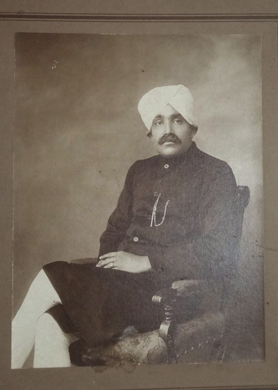 Indian Upper Class Man Sitting on a Chair
