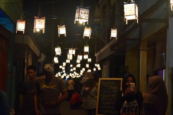 Festival Damar Kurung 2016 di Gresik