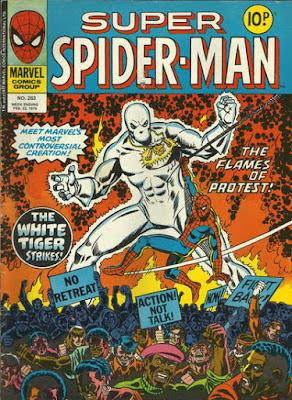 Super Spider-Man #263, the White Tiger