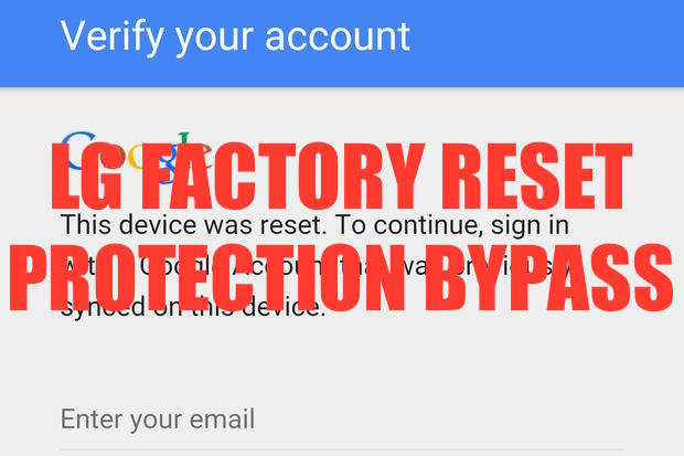 Kevin With Tech: How To Bypass Any LG Google Verify Account