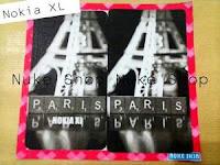 Stiker, skotlet atau garskin skin hp Nokia Xl Paris