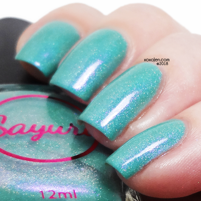 xoxoJen's swatch of Sayuri The Power of Love