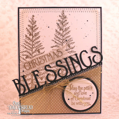 Our Daily Bread Designs Stamp Sets: Joys of the Season, Christmas Door, Our Daily Bread Designs Paper Collection:  Winter 2014, Our Daily Bread Designs Custom Dies:  Blessings Border, Pennant Flag, Pierced Rectangles, Circles, Double Stitched Circles