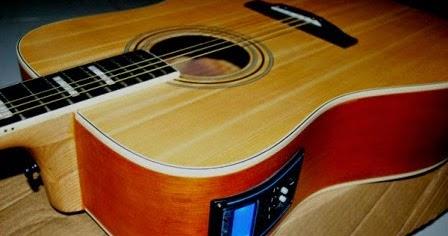 Merubah Gitar Akustik Menjadi Semi Elektrik