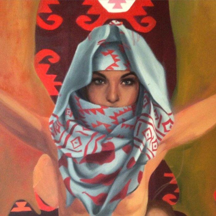 Молодой болгарский художник. Simona Ruscheva
