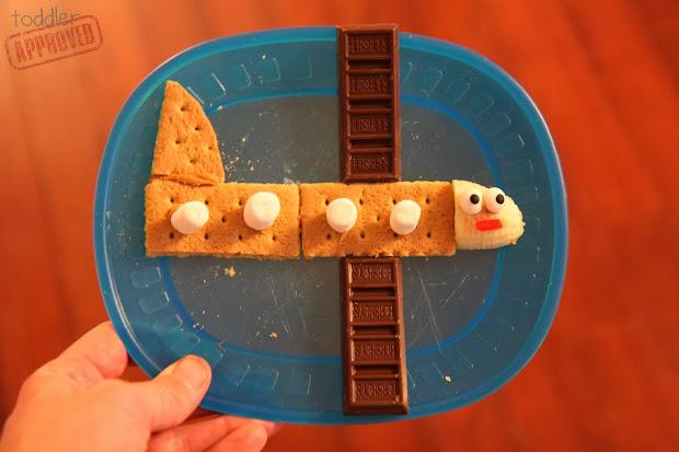 Airplane Food Craft for Preschool