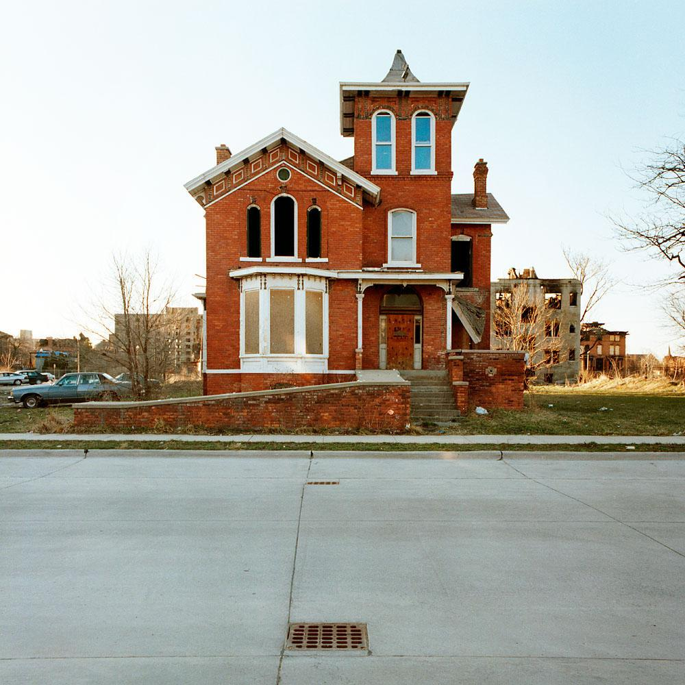 The Reel Foto: Kevin Bauman: 100 Abandonded Detroit Houses