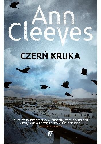 """Czerń kruka"" Ann Cleeves"