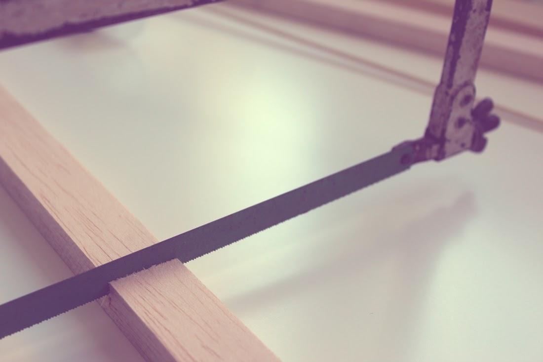Calendario de adviento de madera