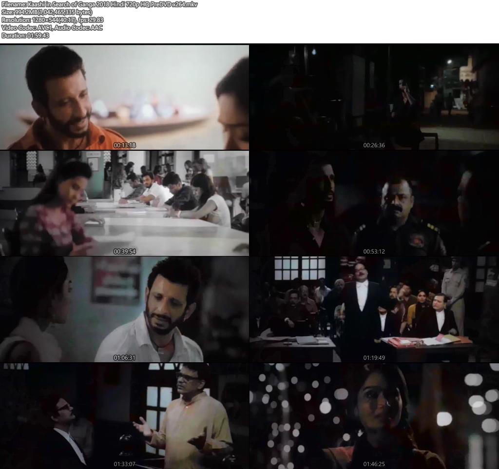 Kaashi in Search of Ganga 2018 Hindi 720p HQ PreDVD x264 Screenshot
