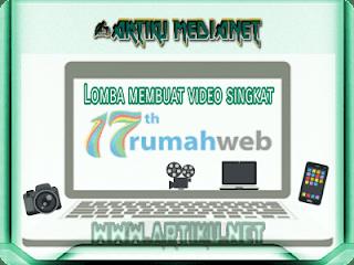 Lomba video rumahweb #rumahweb17th