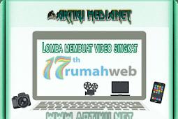 Lomba membuat video singkat dari rumahweb