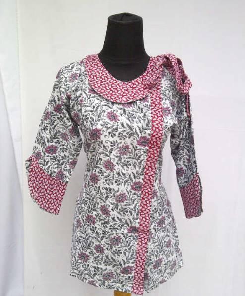 Model Baju Batik Lengan Panjang Modern: 10 Model Baju Batik Kantor Lengan Panjang Terbaru 2020