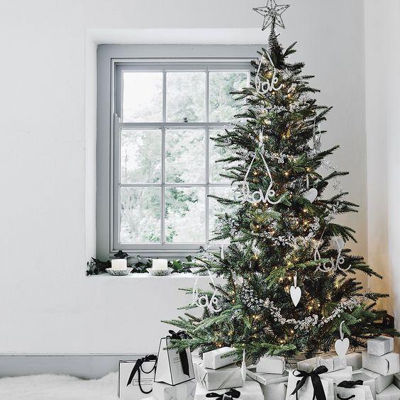 Christmas Tree Company Greytown : I heart shabby chic cottage christmas decor silver white