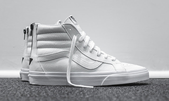 Vans Sk8-Hi Zip Leather preço Brasil