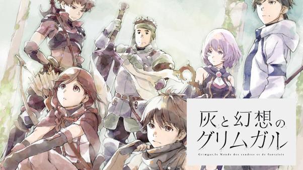 Hai to Gensou no Grimgar Daftar Anime Isekai Terbaik ( Tokoh Utama Masuk Dunia Lain )
