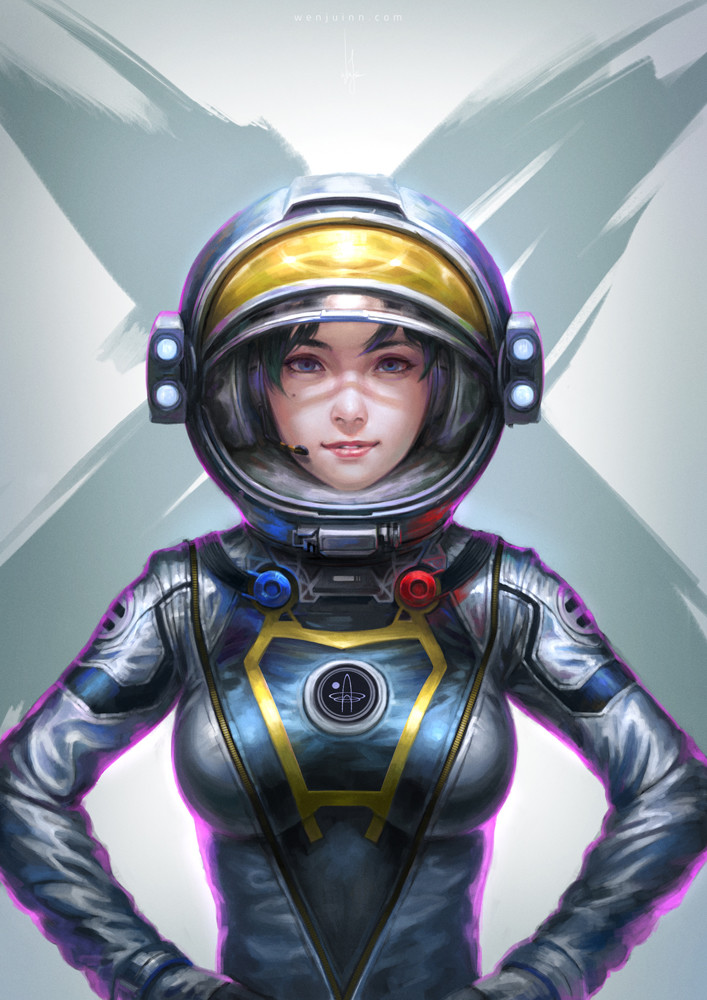 sexy anime space suit - photo #24