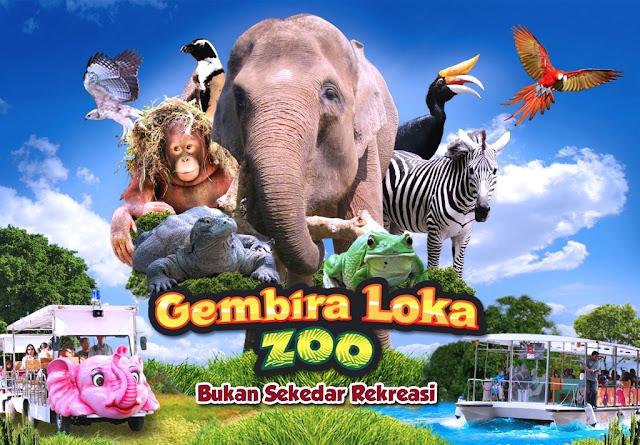 Harga Tiket Masuk Gembira Loka Zoo Terbaru 2018