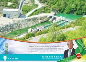 Hidroelektrik Santrali Ile Enerji Ve Su Temininin Sağlanması